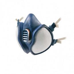 Sikkerhedsmaske 3M m/ventil, blå Onesize, FFABE1P3D/4277