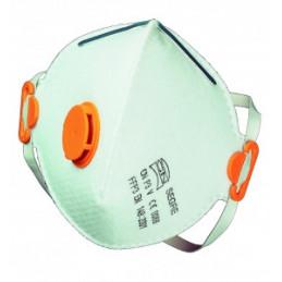 Støvmaske FFP3 m/ventil (10 stk)