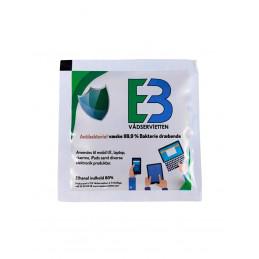 Desinfektionswipes 8x20cm 100stk 85% ethanol Enkeltindpakket